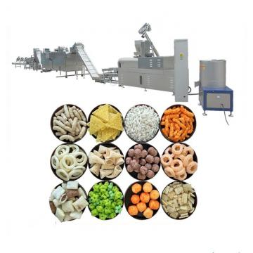 Grain Corn Puffed Snack Wheat Making Cereal Rice Puffing Extruder Making Machine