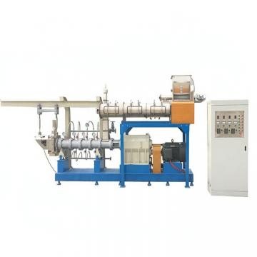 Double Layer Steam Fish Feed Extrusion Bulking Machines