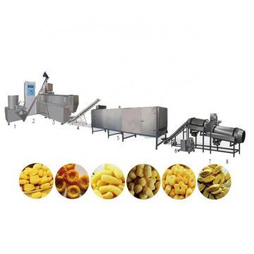 Fried puffed salad bugle chips rice crispy snacks food extruder making machine equipment line