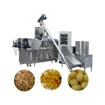 Double screw Crispy chip fried Flour food extruder making machines