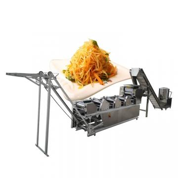 Stainless Steel Instant Fried Automatic Noodle Making Machine Energy Saving
