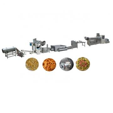 High Quality Fried Pellet Chips Snack Food Processing Line /Wheat Flour Snack Making Machine