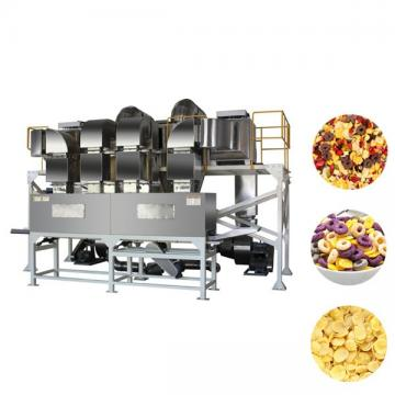 Industrial Auto Breakfast Cereal Maker Machine / Corn Flakes Manufacturing Machine