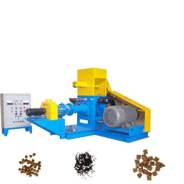 Large Capacity fish feed extruder machine , floating fish feed pellet making machine #3 image